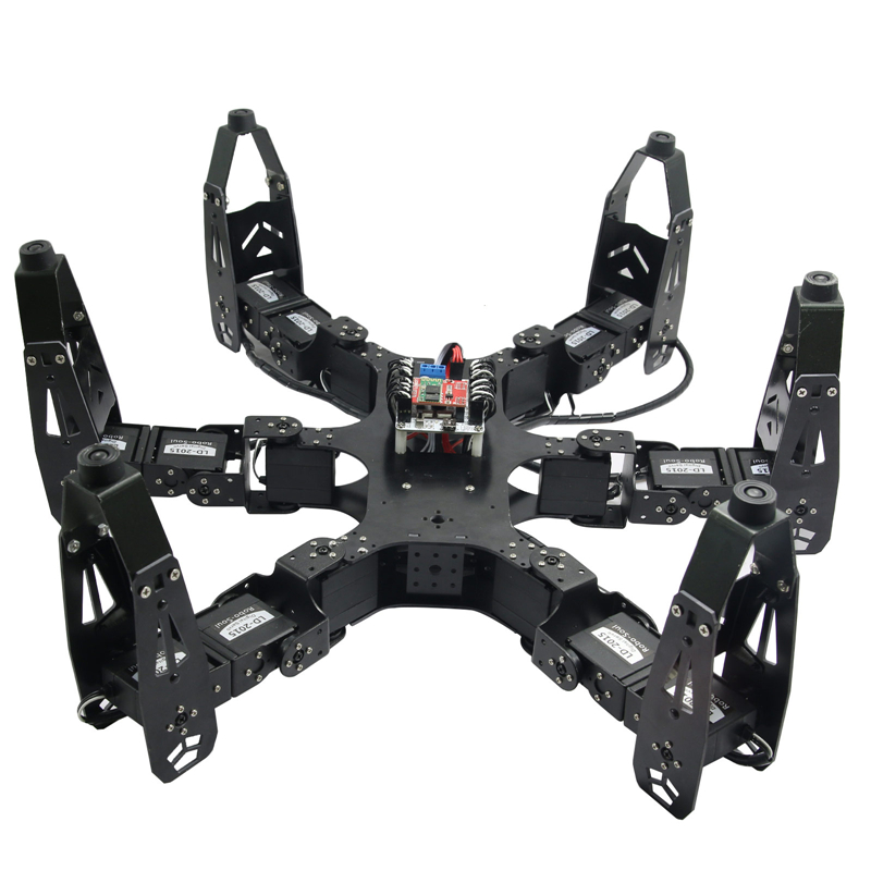 Spider Robot Diy Robo-Soul CR-6 Hexapod Robotics Six-legged Spider Robot with 20