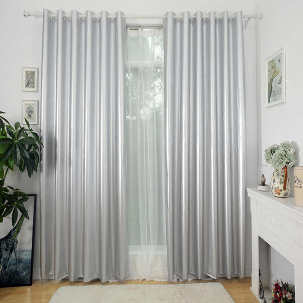 Fashion Modern Curtain For Sun Shaded Decoration For Living Room Bedroom Window Cotton