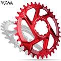 VXM велосипедная Звездочка 30 т 32 34 Т 36 38 T узкая широкая цепь из колец цепь велосипедная Звездочка для GXP XX1 X9 модными принтами XO X01 ЧПУ AL7075 запчасти для велосипеда - фото