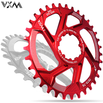 цена на VXM Bicycle Chainwheel 30T 32T 34T 36T 38T Narrow Wide Bicycle Chainring For GXP XX1 X9 XO X01 CNC AL7075 Crankset Bicycle Parts