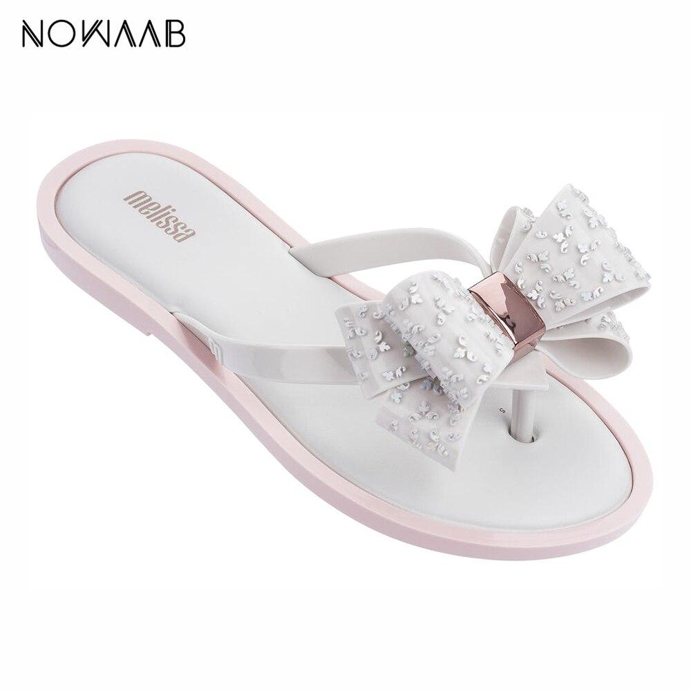 Melissa Flip Flop Sweet 2019 New Women Slippers Brand Jelly Shoes Brazilian Female