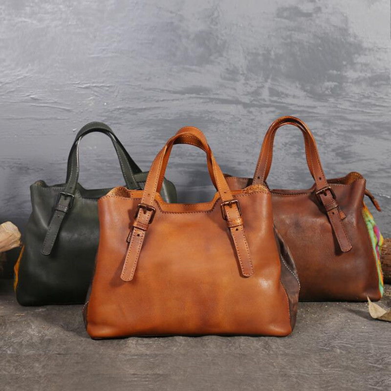100% Genuine Leather Handbags 2018 New Arrival Cowhide Women Messenger Bags Leather Bag Female Cross-body Bag Ladies Tote Bolsos women genuine leather handbags ladies personality new head layer cowhide shoulder messenger bags hand rub color female handbags