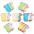 5PCS/LOT Baby Rompers Baby Short Sleeve Summer Clothing Baby Clothes Wholesale