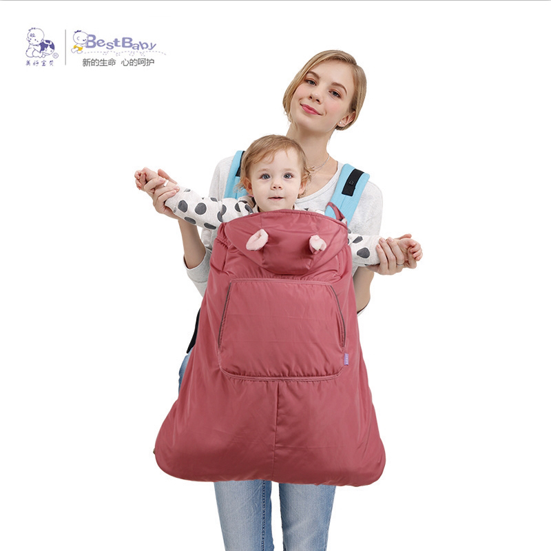 Best Baby Warm Baby Carrier Coat Hipseat Cover Cape Cloak Infant Backpack Sling Wrap Mantle Cover Waterproof For Autumn Winter