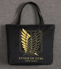 Attack on Titan Handbags Women Student Shoulder Bag (13 styles)