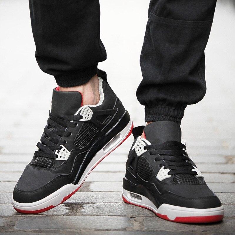 dff624cba24ce Otoño Zapatillas Loop verde Botas Más Blanco Nuevos Negro amp  Los Tobillo  Calidad Rojo Zapatos Deporte ...