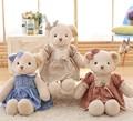 45 СМ плюшевые игрушки для ребенка платье принцессы мишка женский медведь большой трюм медведь юбка медведь кукла подарок на день рождения