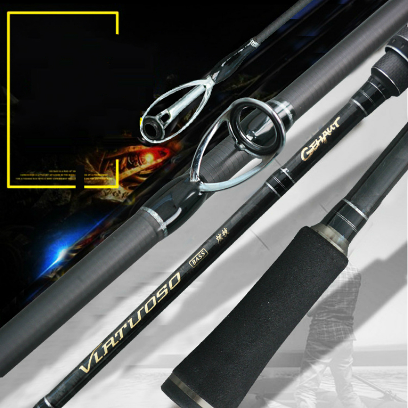 High Quality Fishing Rod1 8 2 4M Lure Rod Spinning casting Fishing Pole High Carbon Fish