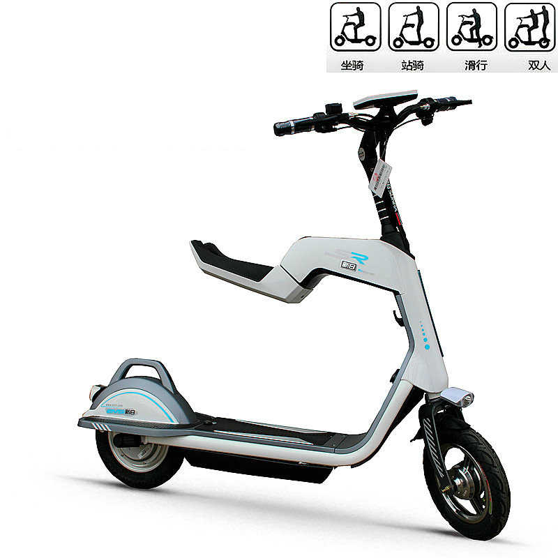 14inch Electric Scooter 48v Li Ion Battery Bicycle Miku Smart 350w High