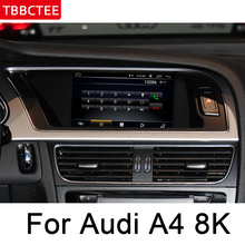 For Audi A4 8K 2008~2016 MMI Navigation multimedia player IPS Android Car DVD GPS Stereo radio WiFi BT system 10 25 ips quad core android 6 0 capacitive screen car dvd for audi a4 a5 q5 2010 2016 car radio gps navigation stereo headunit