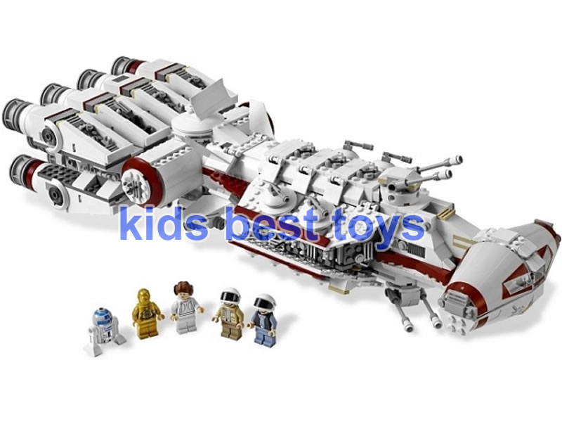 Star Wars Rebel Blockade Runner UCS DIY Building Brick Toys Boys Gift Same Model 10019 rebel star hoodie