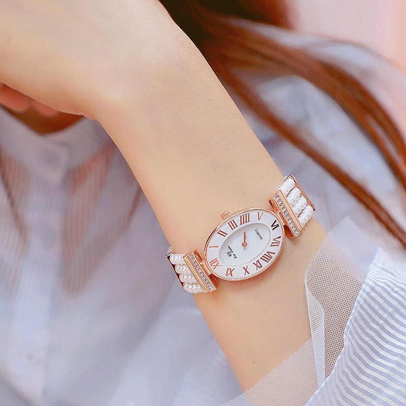 Новое поступление роскошные женские часы 2019 Модные Кварцевые женские наручные часы высокого качества повседневные часы с бриллиантами Relogio Feminino