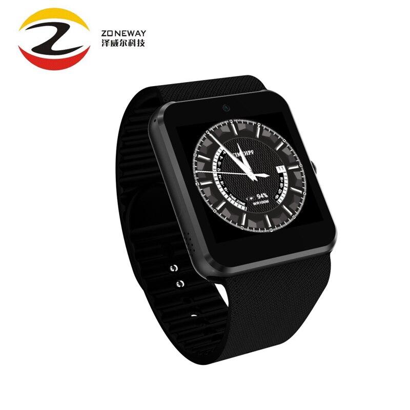 imágenes para Nueva qw08 teléfono mtk6572 android 4.4 1.54 pulgadas 3g smart watch 1.2 GHz Dual Core 512 MB RAM 4 GB ROM Bluetooth 4.0 SmartWatch Pk QW09