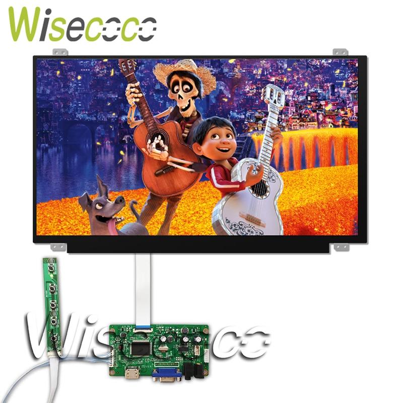 15.6 Inch IPS LCD Screen 1080P 1920*1080 HDMI VGA Edp 30 Pins Driver Board For Raspberry Pi 3 Laptop Lcd Display N156HGA-EAB