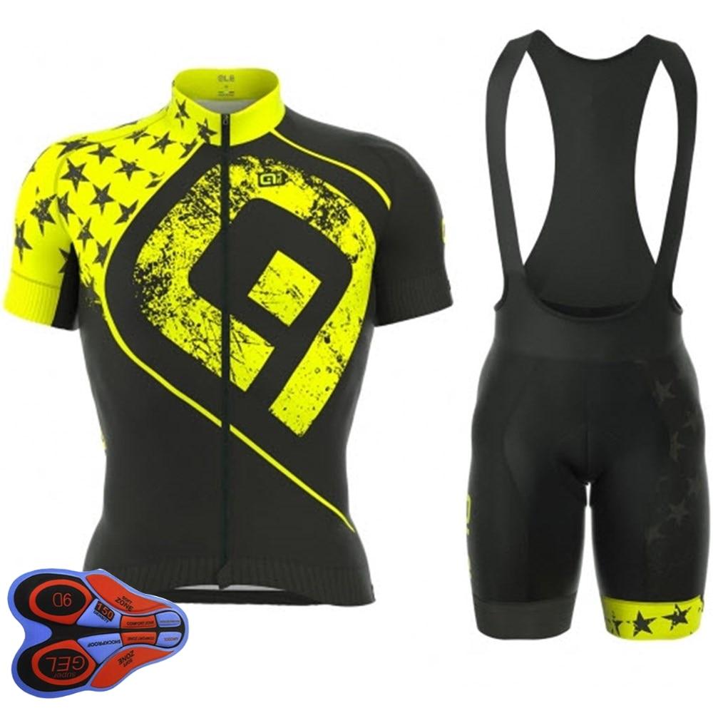 Prix pour 2017 ALE Vélo Jersey Vélo Cycling Team Vêtements Vélo De Course Vélo Vêtements Ropa Ciclismo Respirant Vélo Jersey