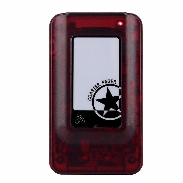 Coaster Pager Convidado sem fio Receptor Exigível para o Sistema de Fila de Paginação Restaurante F4493C