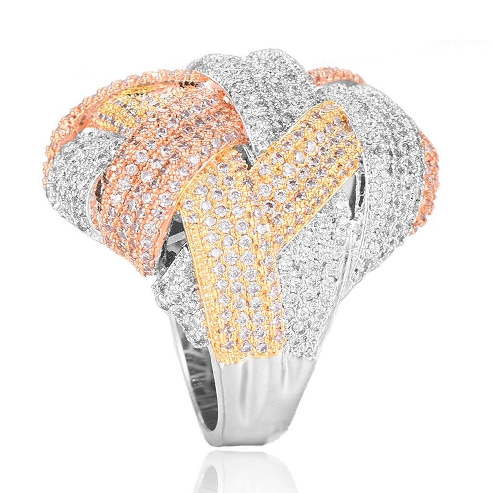 GODKI Famous Brand Luxury Big Winding Cross Geometry Cubic Zironia CZ Ring For Women Wedding Dubai Unisex Bridal Finger Ring2018GODKI Famous Brand Luxury Big Winding Cross Geometry Cubic Zironia CZ Ring For Women Wedding Dubai Unisex Bridal Finger Ring2018