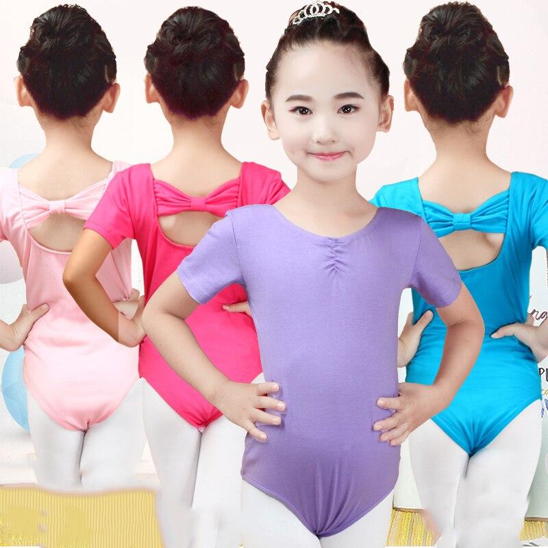 Child Ballet Dance Costumes Ballet Leotards For Girls Gymnastic Leotard Dancing Bodysuit Practice Clothes Lycra Jumpsuit DN2180