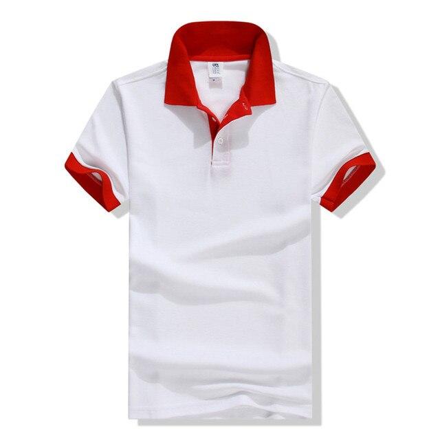 New Brand clothing Men's Polo Shirt Men Cotton Short Sleeve shirt Casual jerseys European Size S - 3XL camisa polo homme