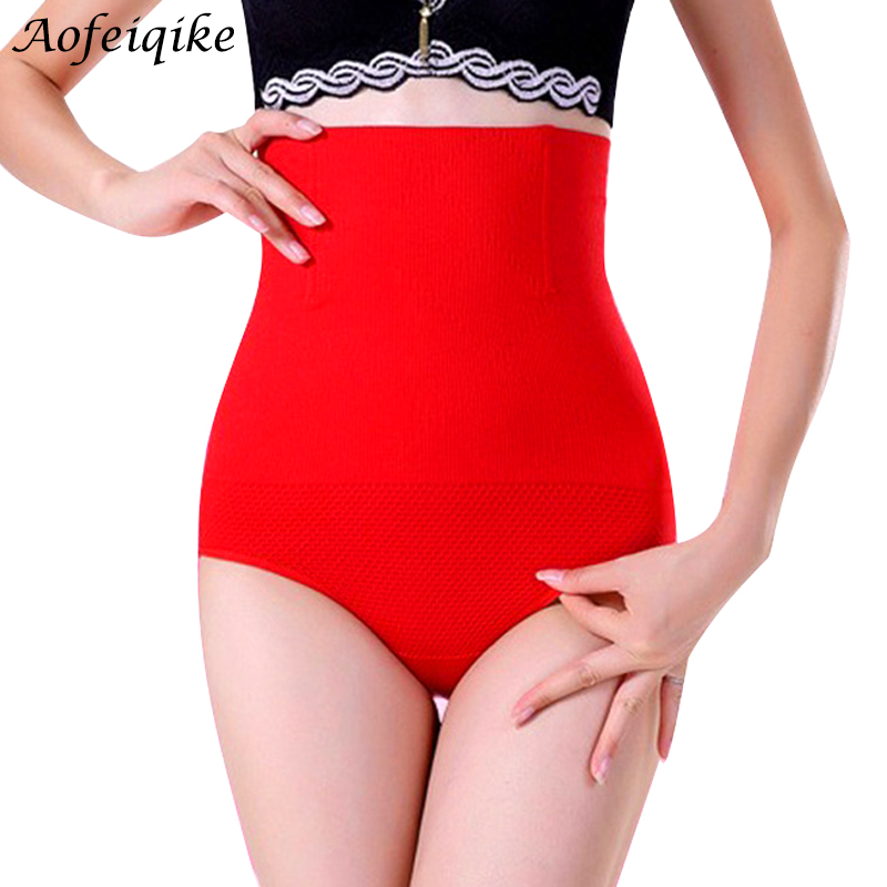 High Waist Girdle Body Shaper Underwear Slimming Tummy Knickers Panties 2017 Hot Sale and New Fashion control panties