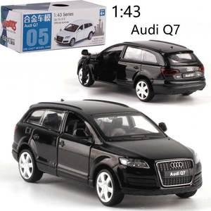 CAIPO 143 Audi Q7, модель автомобиля из сплава с обратной связью, литая под давлением металлическая модель автомобиля для мальчиков, коллекция игр...