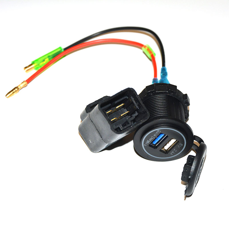 Usb Motorcycle Bike Charger For Kawasaki Versys650