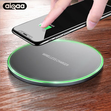 BATSEY 10W Qi Wireless Charger For iPhone 8/X Fast Wireless Charging for Samsung S8/S8+/S7 Edge Nexus5 Lumia 820 USB Charger Pad(China)