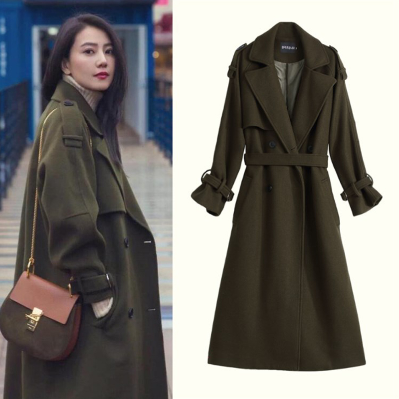 Compare Prices on Olive Wool Coat- Online Shopping/Buy Low Price ...