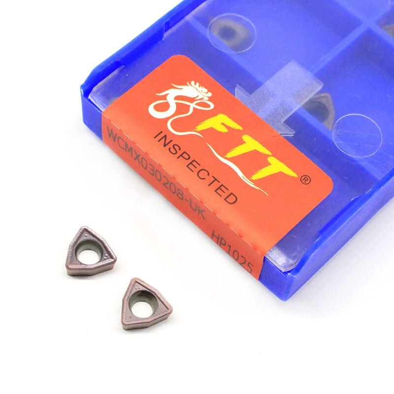 WCMX030208 WCMX040208 WCMX050308 WCMX06T308 UK HP1025 herramientas de torno cnc de torneado de taladro de alta calidad