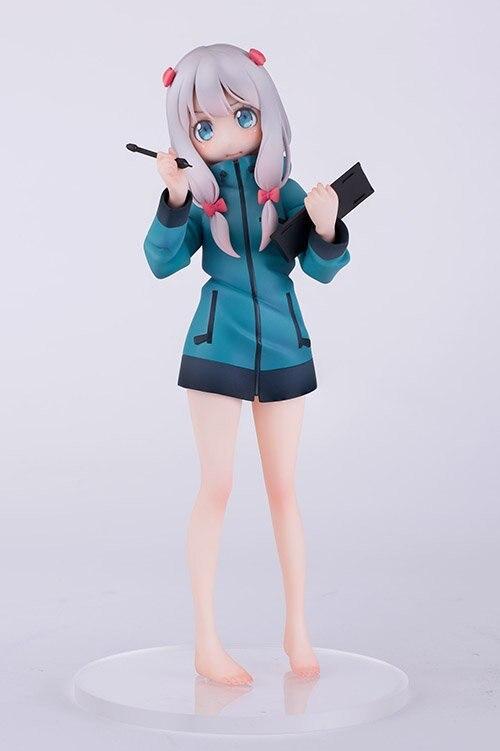 Anime Eromanga Sensei Izumi Sagiri 1/8 Scale Pre-painted Sexy PVC Action Figure Collection Model Toys Doll 19cm idolish7 game izumi iori nikaido yamato izumi mitsuki yotsuba tamaki osaka sogo nanase riku japanese rubber keychain
