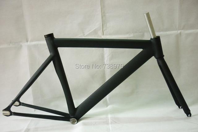 super light fixed gear bike frame 700C track bike frame fork road ...