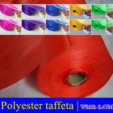 Tissu de doublure en Polyester, 1M * 0.45M 190T, tissu pour bannière, décorations de fête de vacances