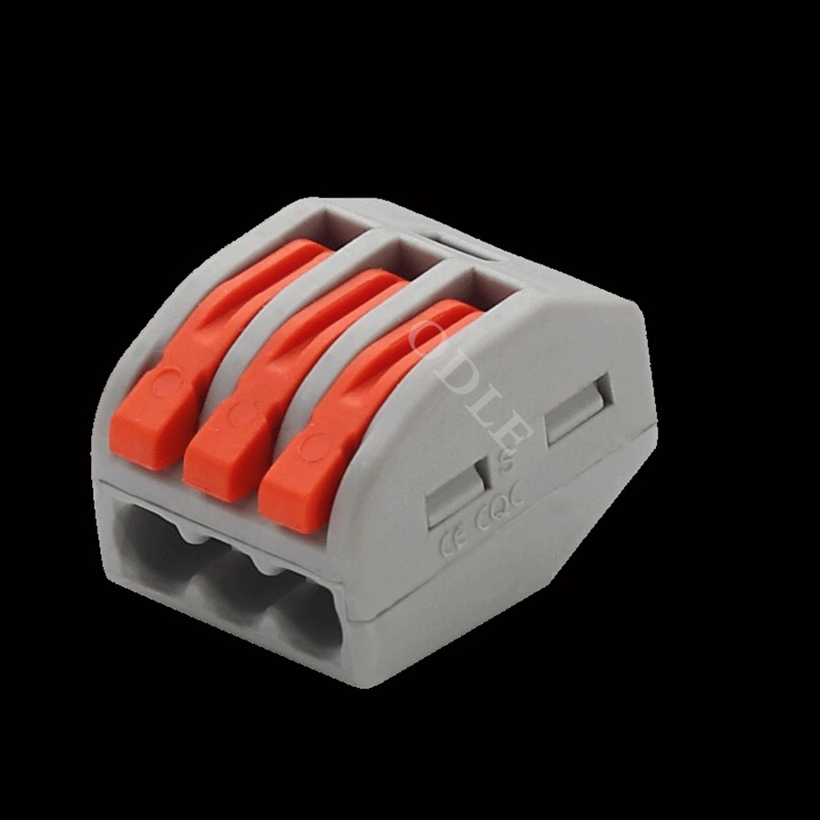 типа фирмы WAGO РСТ-212 213 215 20 штук 2 п + 3 п 20 штук + 20 штук 5 р универсальный компактный провода разъем дирижер клеммный блок