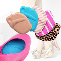 1Pair Foot Care Anti Slip Soft Forefoot Half Insoles Shoe Sponge Cushion Pads