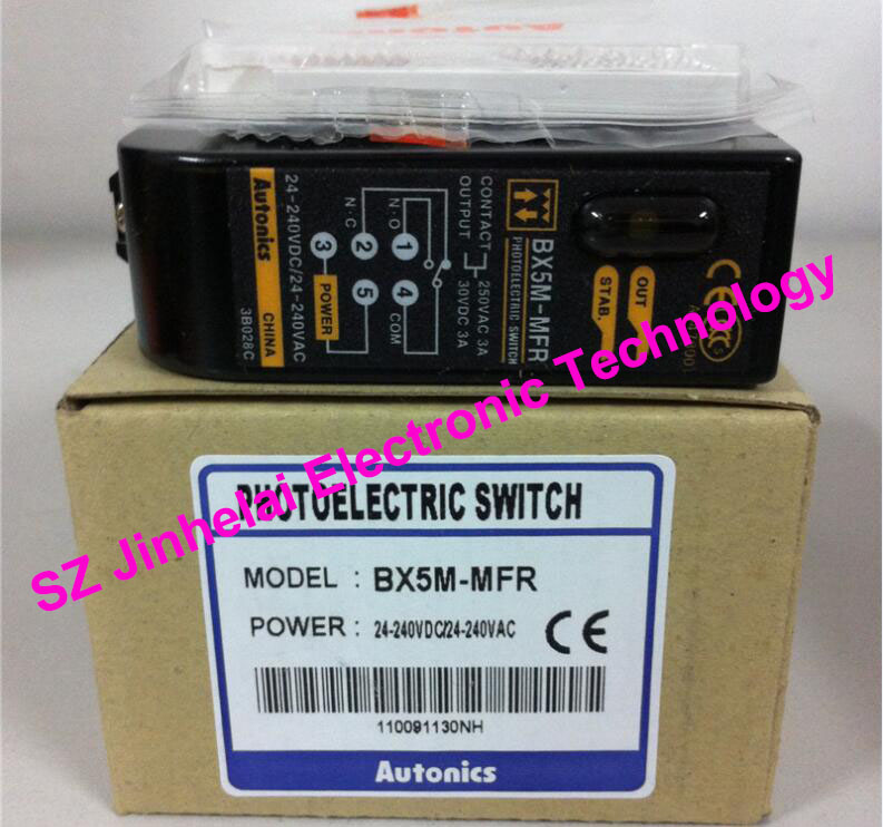 100% New and original BX5M-MFR AUTONICS PHOTOELECTRIC SWITCH junior and carlsson