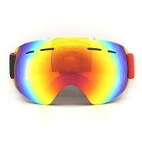 Frameless Ski Goggles UV400 Anti Fog Snowmobile Skate Skiing Glasses Adult Snowboard Goggles Ultra Light Winter