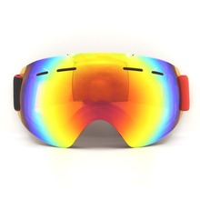 Frameless Ski Goggles UV400 Anti-fog Snowmobile Skate Glasses Adult Snowboard Goggles Ultra-light Winter Snow Skiing Eyewear