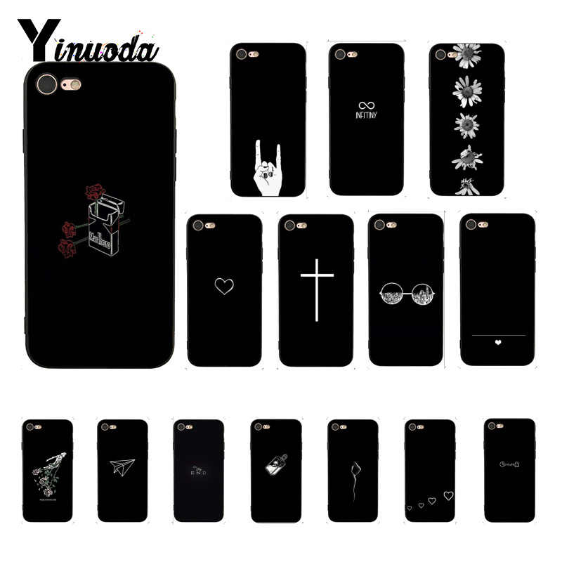 Yinuoda sobre darling equação luxo design exclusivo phonecase para iphone 8 7 6 s 6 plus x xs max 5 5S se xr fundas capa