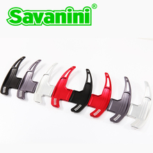 Steering Wheel Shift Paddle Shifter Extension Kit For Ford Mustang 2015 UP Savanini Aluminum Free shipping
