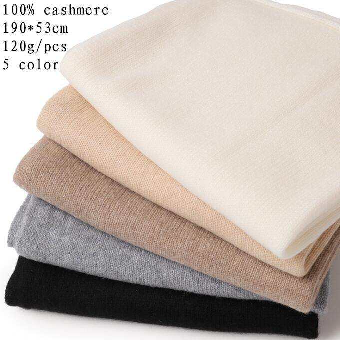 Naizaiga 100 cashmere Knitted ladies scarf hollowed out shawl 3 color patchwork winter warm wrap pashmina