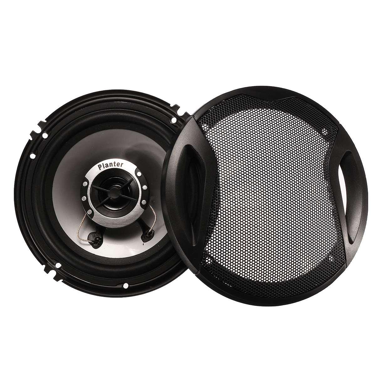 2pcs 6.5 Inch 400W Car Audio Speaker 4 Way Coaxial Loud Speaker Universal Vehicle Auto Audio Music Stereo Hifi Loudspeakers