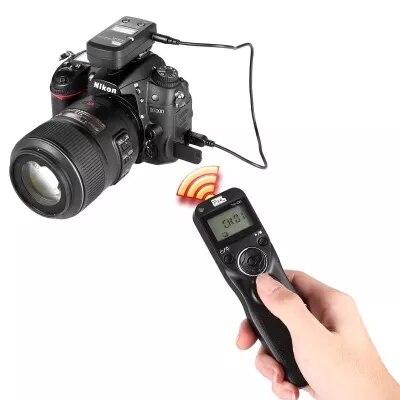 PIXEL TW-283 DC0 Wireless Timer Shutter Release Remote Control For Nikon D750 D610 D600 D90 DF D7500 D7200 D7100 D7000 D5600 2 5mm remote shutter release cable connecting for nikon df d750 d7100 d5500 d5300 d3200 d3300 d600 d610 d90 as 3n n3 dc2 cable m