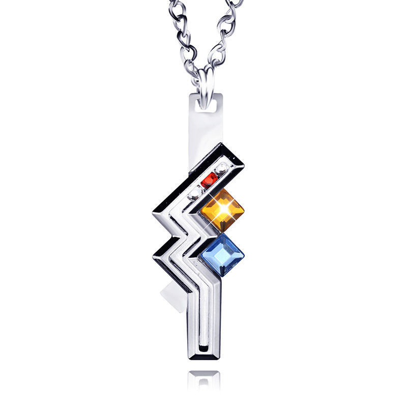 Nice 1 Pc Final Fantasy XIII 13 Lightning Necklaces & Pendants Anime Cosplay Buy-direct-from-china Choker Necklace