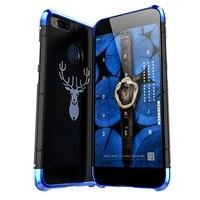 Case For Xiaomi Mi 5X / Mi A1 Metal Aluminum PC Luxury Capa Wapiti Metallic Smartphone shell Anti drop back cover 5.5'' Coque