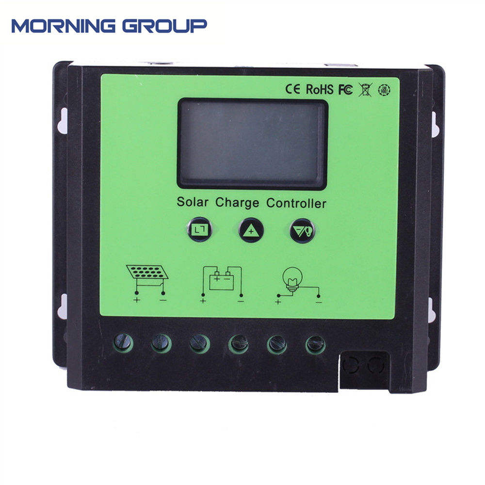 12V 24V 48V PWM Charging Mode Solar Charge Controller with LCD Display 40A 50A 60A 60a 12v 24v 48v solar charge controller engineering premium quality com rs232 with pc