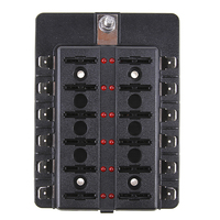 PC Terminal Waterproof CS 579B1 1 In 6 Out Of The Fuse Box With LED Indicator