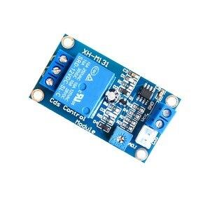Image 4 - 5 pièces XH M131 DC 12 V interrupteur de contrôle de la lumière photorésistance Module de relais capteur de détection 10A luminosité Module de contrôle automatique