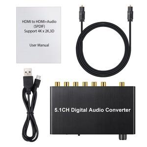 Image 5 - Prozor 192 khz 5.1ch dac 컨버터 볼륨 조절 디지털 아날로그 및 3.5mm 잭 오디오 컨버터 어댑터 (AC 3 용)