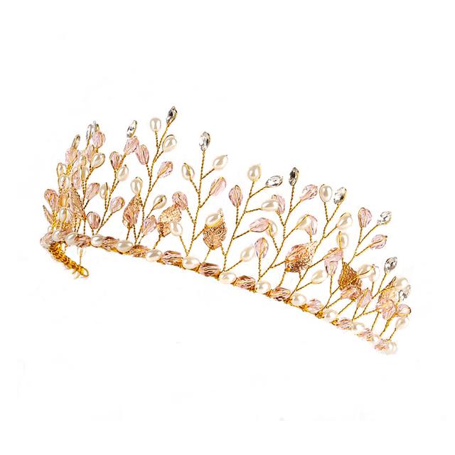 Elegant Pearl Embellished Tiara
