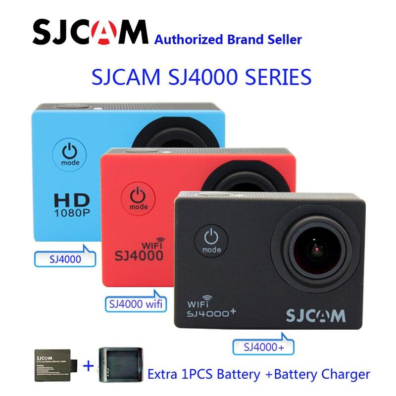 Original SJCAM SJ4000 Series SJ4000 SJ4000 WiFi SJ4000 Plus WiFi 2K Sport Action font b Camera